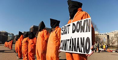Manifestaciones a favor del cierre de Guantánamo, en Washington. | Efe