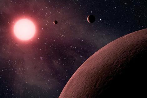 Recreación artística de KOI-961. | NASA/JPL-Caltech