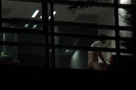 Un fotograma del supuesto vídeo sexual grabado en la UPV.
