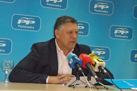 Telmo Martín, diputado del PP en el Congreso por Pontevedra. | telmomartin
