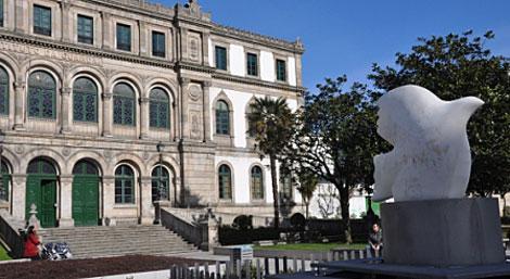 Fachada del Instituto Eusebio da Guarda, donde estudio. | M. N.