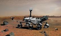 Recreación del 'Curiosity'.   CSIC / INTA