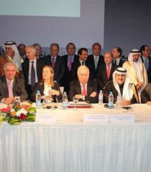 Los ministros Pastor y Margallo en la firma del acuerdo. | Ministerio de Exteriores