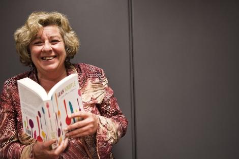 Lola Piera, autora de la novela 'Gran soufflé'. | Vicent Bosch
