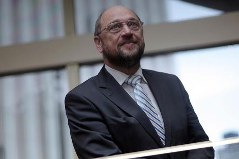 El presidente del Parlamento Europeo, el alemán Martin Schulz. | A. M. Xoubanova