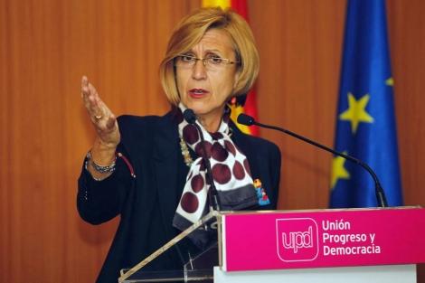 Rosa Díez, 'número uno' de la coalición magenta. | Antonio Pastor