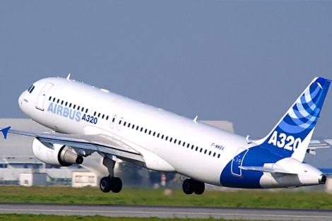 Despegue de un A320. | EADS