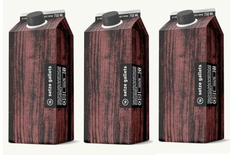 Envases de cartón del nuevo vino de Celler del Roure | E.M.
