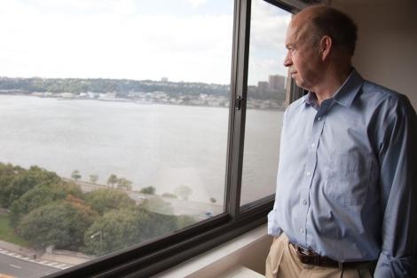El director del estudio, James Hansen, del Instituto Goddard de la NASA, fotografiado en Nueva York.   ISAAC HERNÁNDEZ