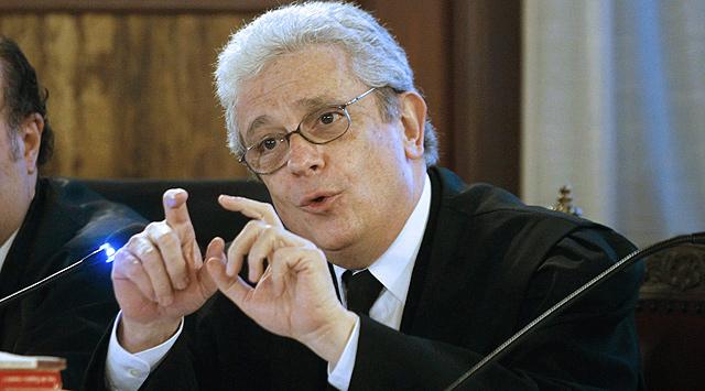 Javier Boix, abogado de Francisco Camps, durante el juicio al ex presidente. | Efe