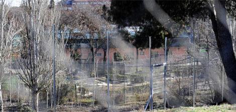 Complejo donde se encuentra situado el centro El Laurel, en Madrid. | EL MUNDO