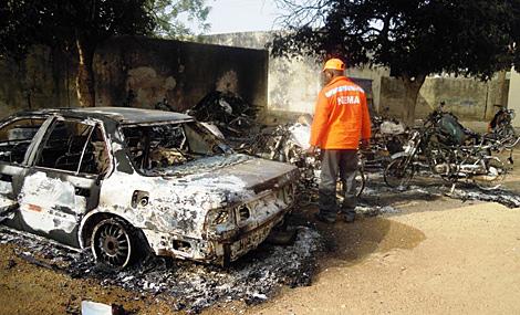 Imagen del uno de los lugares atacados. | Afp