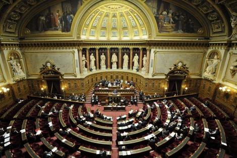 Vista general del Senado francés durante el debate. | Efe
