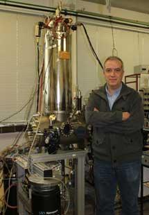 Microscopio STM y J. M. Gómez Rodríguez.