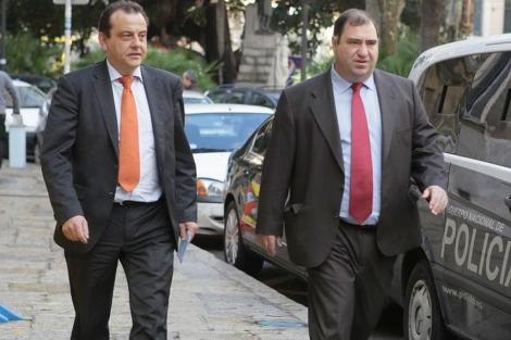 Los fiscales anticorrupción Pedro Horrach y Joan Carrau   Cati Cladera
