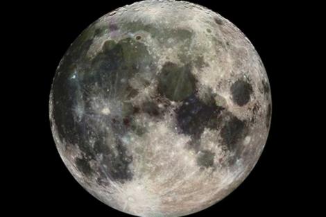 Una imagen de la Luna captada por la sonda 'Galileo'. | NASA