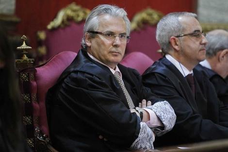 Garzón en el Tribunal Supremo. | José Aymá.