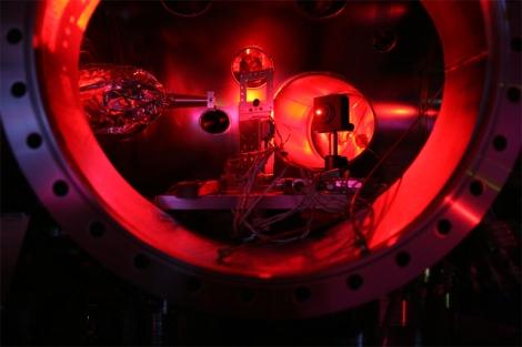 Interior del láser LCLS situado en California (EEUU). | Sam Vinko