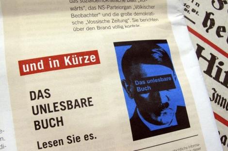 Una revista alemana anuncia la publicación en fascículos del libro ' Mein Kampf '. | AFP