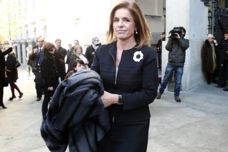 La alcaldesa de Madrid, Ana Botella.| Antonio Heredia