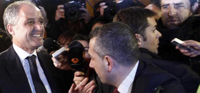 Camps, tras conocer el veredicto del jurado.| José Cuéllar