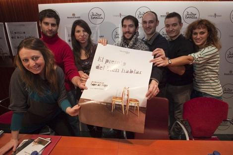 La compañía Valquiria Teatro presentó su obra en el Zorrilla. | Photogenic | P. Requejo