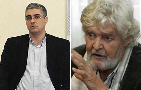 Aymerich y Beiras, los rostros de la alianza vencida de EI-MáisGaliza. | Efe