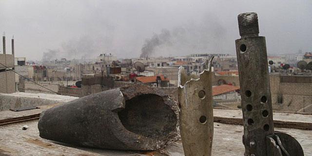 Columnas de humo en los alrededores de Damasco. | Reuters