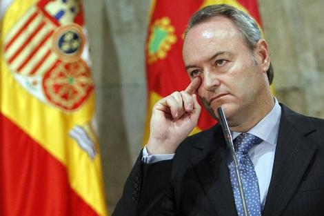 Alberto Fabra, presidente de la Generalitat Valenciana | José Cuéllar