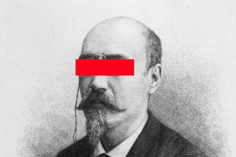 El escritor teatral José Echegaray.