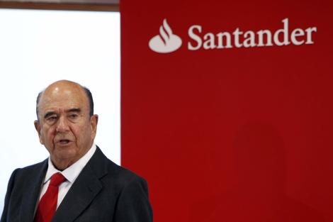 Emilio Botín, presidente de Banco Santander | David. S. Bustamante