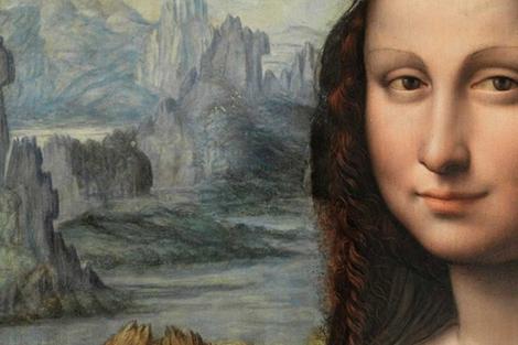 Detalle de la Gioconda del Prado reproducido por 'The Art Newspaper' y atribuido al Prado.