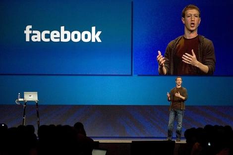 Mark Zuckerberg, durante un acto de la compañía.   Reuters