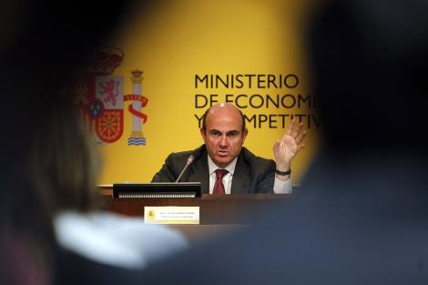 El ministro de Economía y Competitividad, Luis de Guindos.   Reuters
