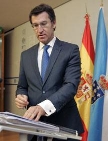 Alberto Núñez Feijóo.   Efe