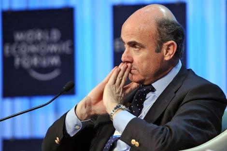 Luis de Guindos, ministro de Economía, que ha elaborado la reforma.   Afp
