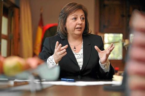 María del Mar Villafranca, nueva secretaria de Educación y Cultura del PSOE. | Jesús G. Hinchado