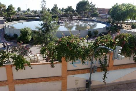 Instalaciones de la depuradora de Pinedo, gestionada por Emarsa. | Benito Pajares