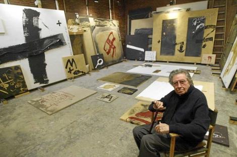 El artista, en 2008. | Quique García
