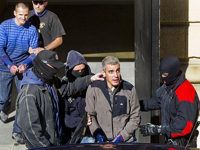 Los terroristas Igor Portu y Mattin Sarasola.   Iñaki Andrés