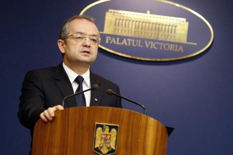 El primer ministro rumano Emil durante una conferencia en Bucarest. | Reuters