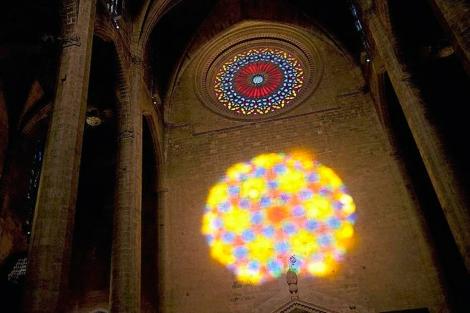 El espectáculo luminoso se da dos veces al año: el 2/02 y el 11/11 | Mariona Cerdó