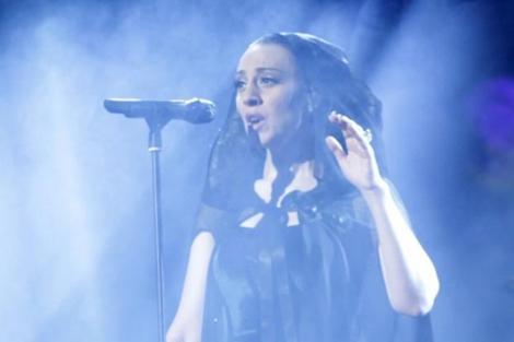 Mónica Naranjo, en una actuación de su anterior gira, en 2010. | Carlos Alba.
