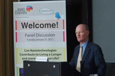 David Willets, ministro británico de Ciencia, en la conferencia de Londres.| Sam Friedrich