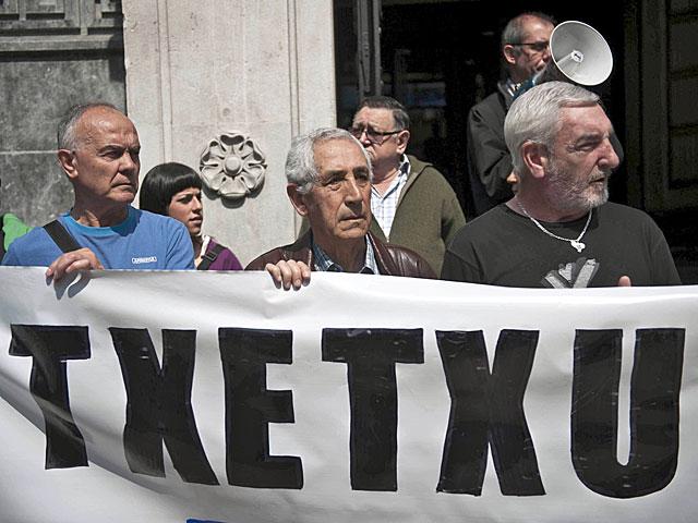 Concentración de apoyo a 'Txetxu' en 2011. | Miguel Toña | Efe