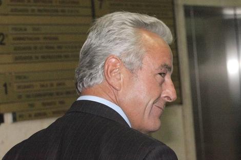 Sánchez Manzano, en una de sus comparecencias en el juzgado. | Óscar Monzón
