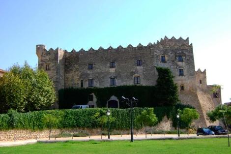 El castillo de Altafulla está ubicado en pleno centro histórico.   El Mundo