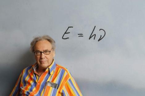 La 'superstar' de la Física Walter Lewin, este martes en Barcelona. | Jordi Soteras