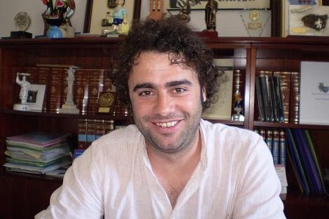 El alcalde de Manzaneda (Ourense), David Rodríguez. | M. S.
