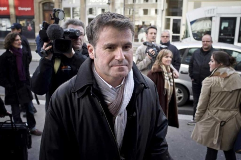 Paul François, a su llegada al tribunal de Lyon en diciembre.| AFP